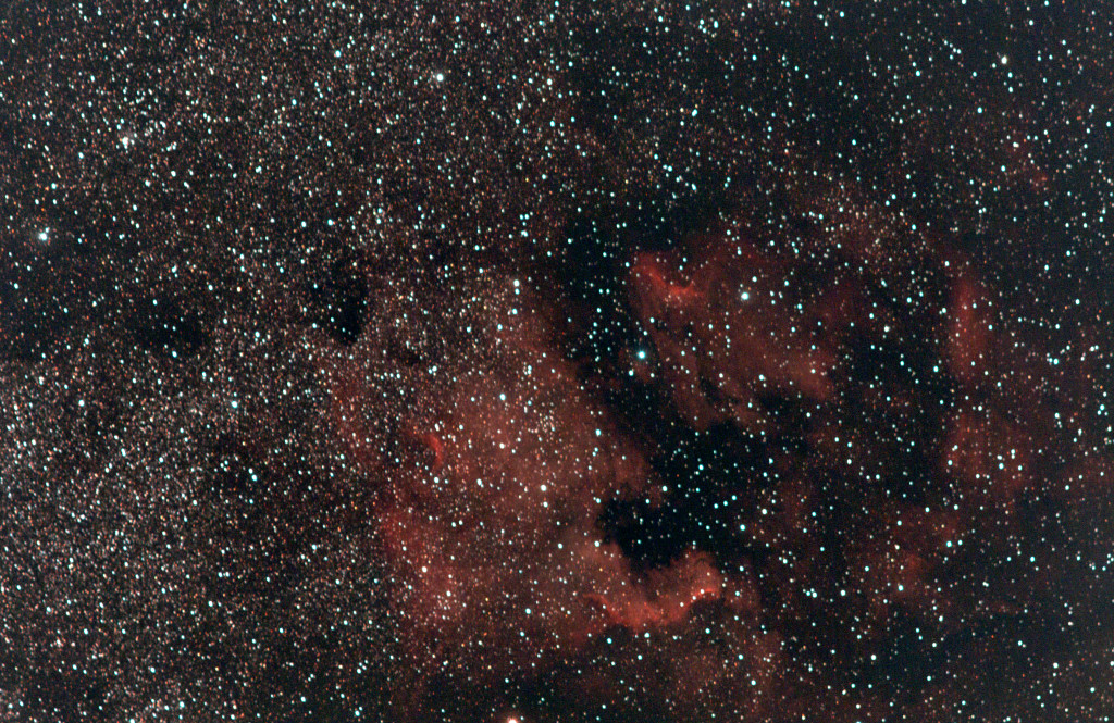 NGC7000 & IC5070, The North America Nebula & The Pelican Nebula